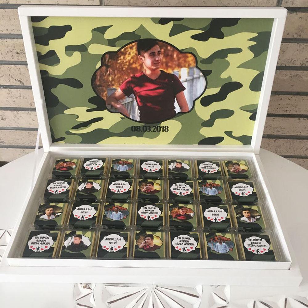 Asker Çikolatası-Fotoğraflı