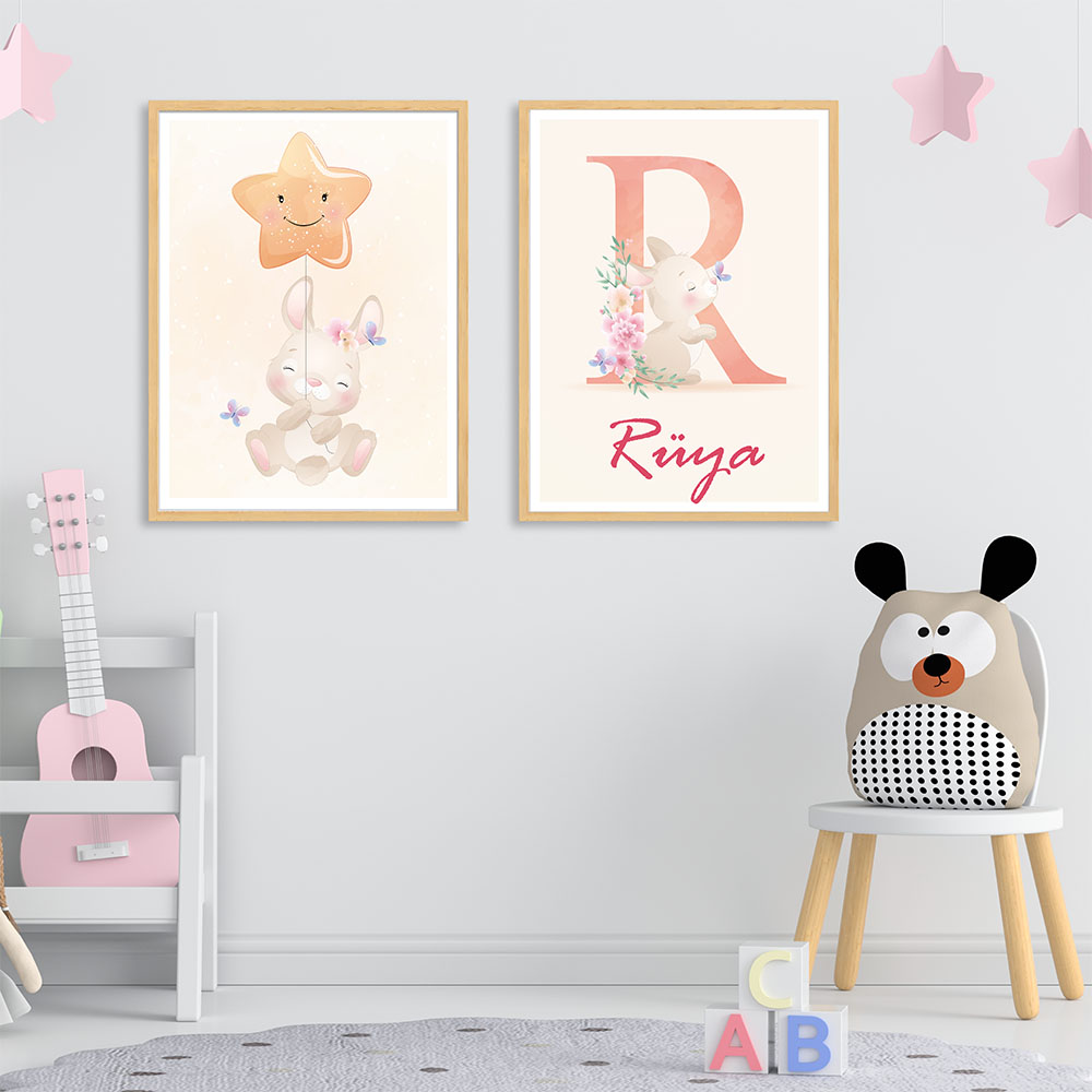 Bebek Odası Çerçevesi, Bebek Odası Ahşap Çerçeve