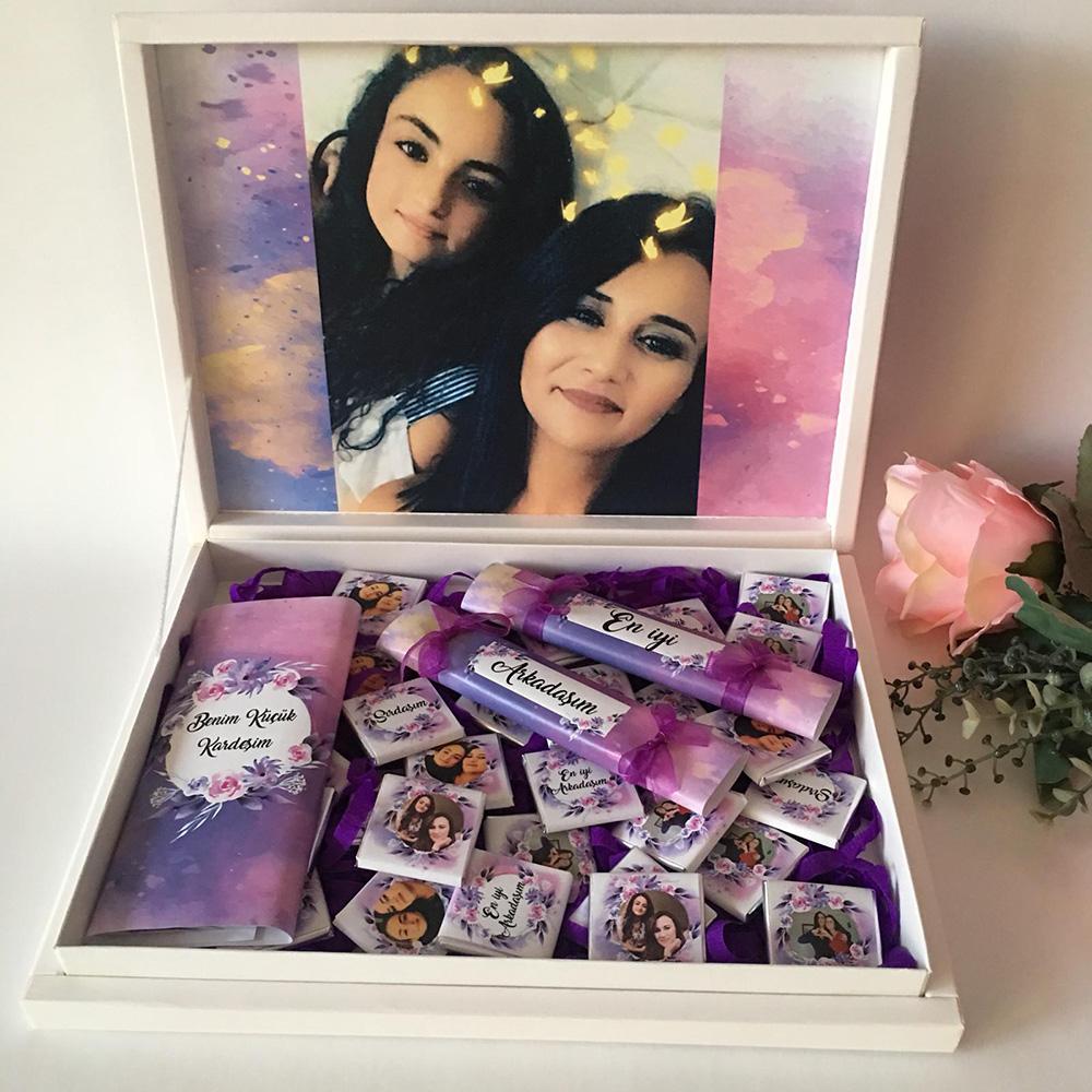 Arkadaş doğum günü çikolatası