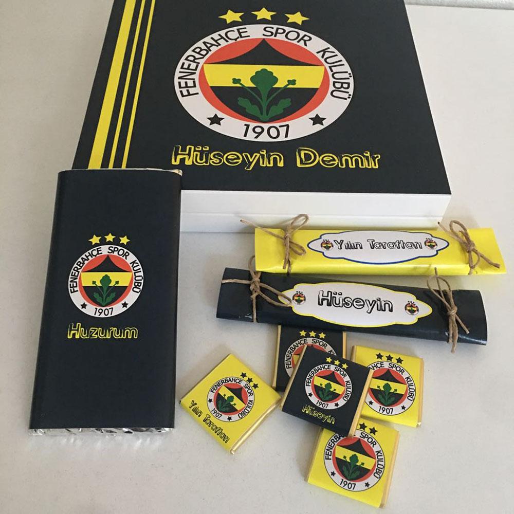 Fenerbahçe Taraftar Çikolatası-Özel Kutu