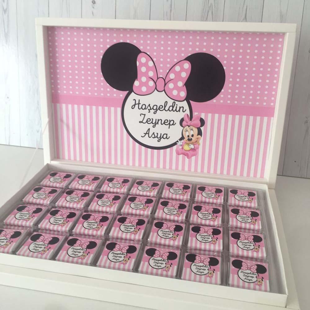 Bebek Çikolatası-Minnie Mouse