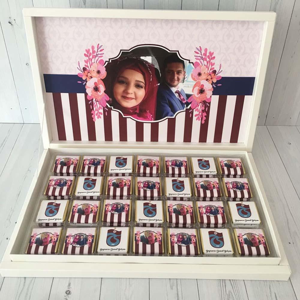 Trabzonspor Damat Bohça Çikolatası