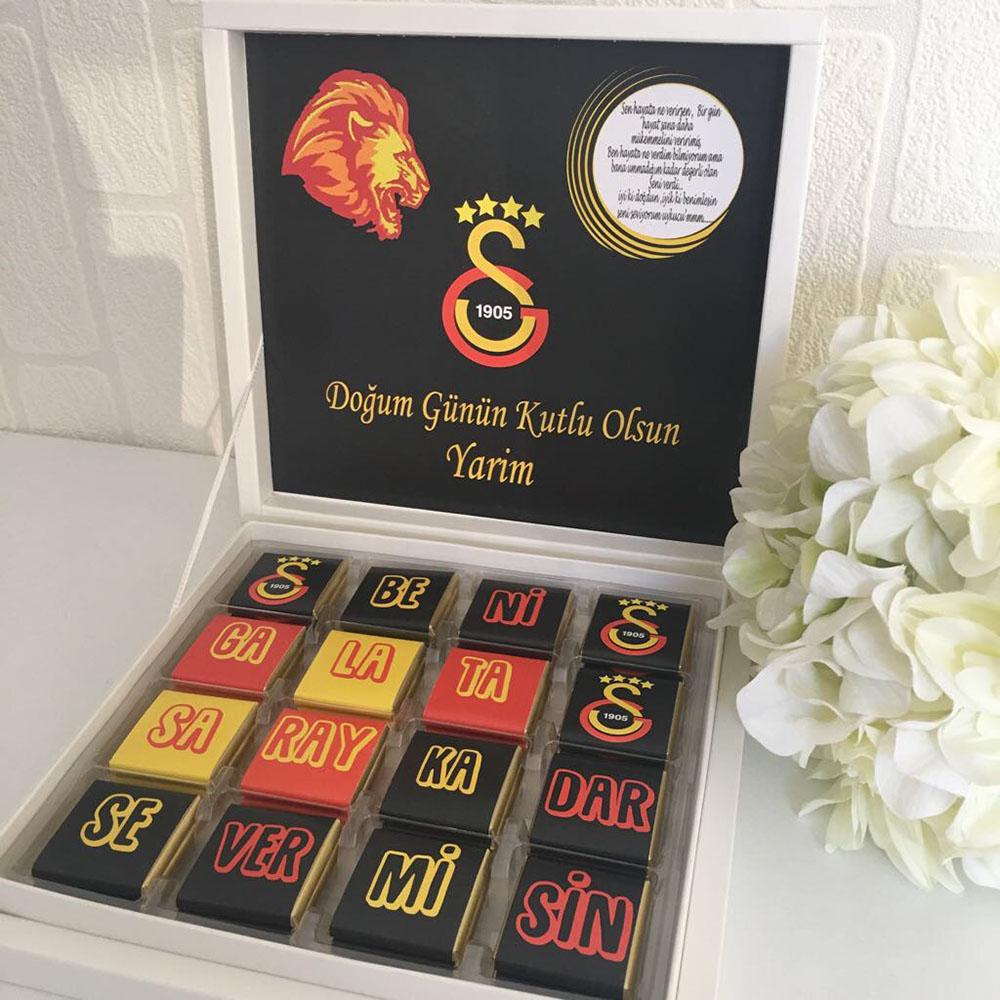 Galatasaray Taraftar Çikolatası-GS