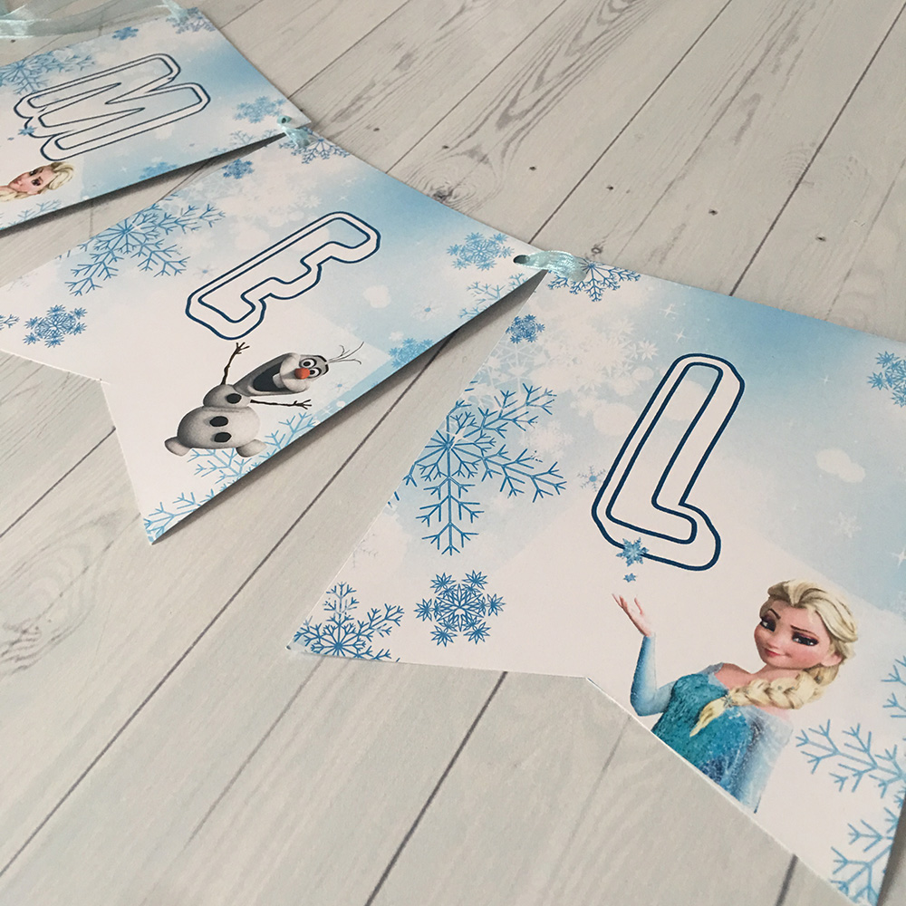 İsim Bayrak Afişi-Elsa