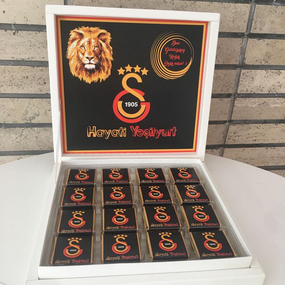 Galatasaray Taraftar Çikolatası