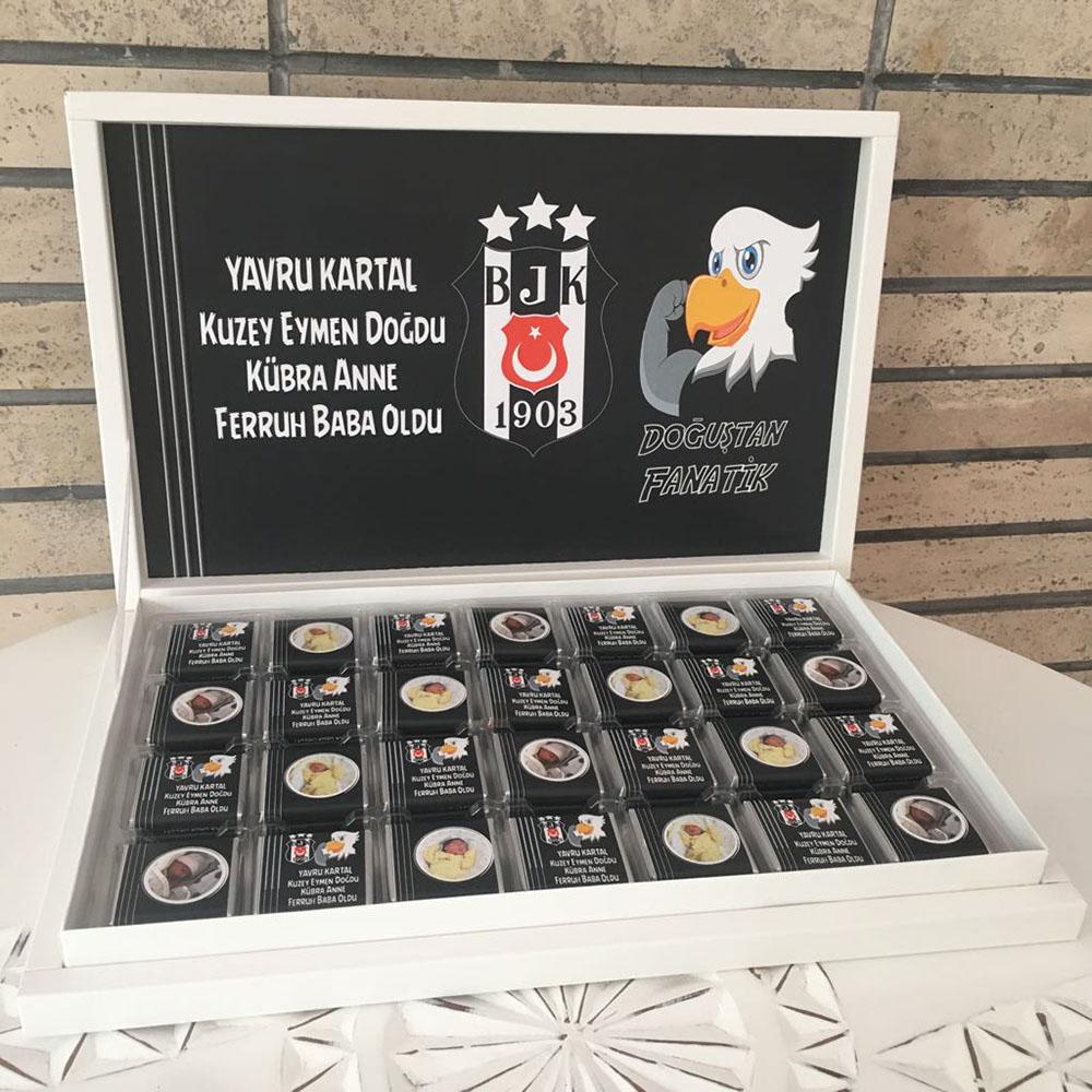 Beşiktaş bebek Taraftar Çikolatası